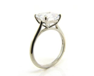 Vatche Asscher or Square Cut Stone Setting V16