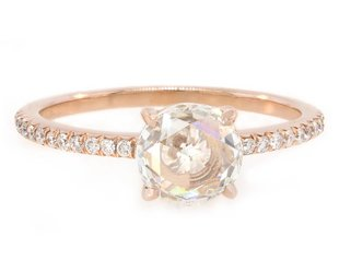 Trabert Goldsmiths 1ct Rose Cut Dia Polaris Ring E1466