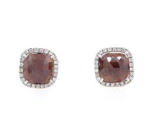Liven Brick Diamond Earrings LN9