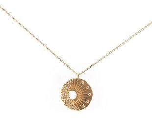Celine Daoust Sun & Moon Diamond Pendant CE9
