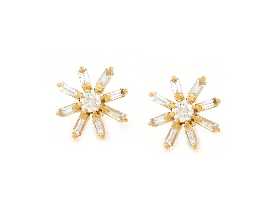 order earrings jewellery heidi beautiful kjeldsen cluster diamond made baguette to