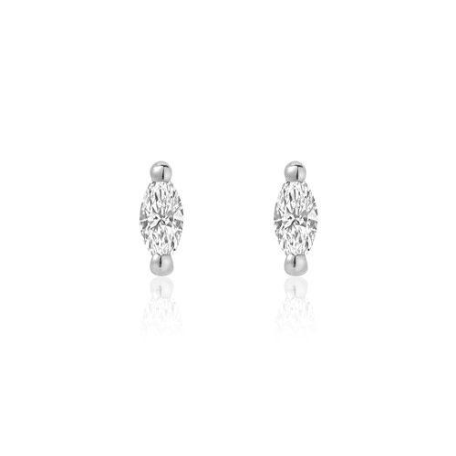 Liven Marquise Diamond Earrings