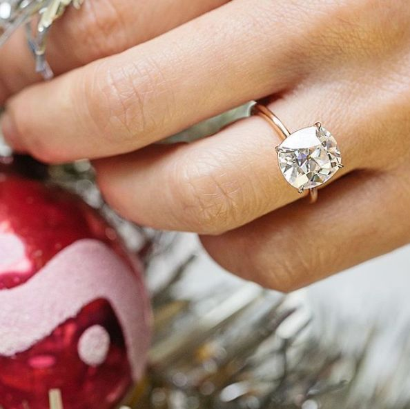 Moissanite Engagement Rings So Stunning, They'll Rock Your World