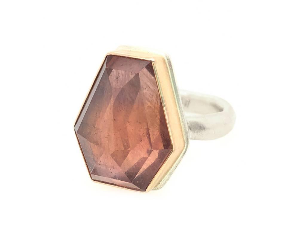 Jamie Joseph Jewelry Designs Geometric Pink Sapphire Ring