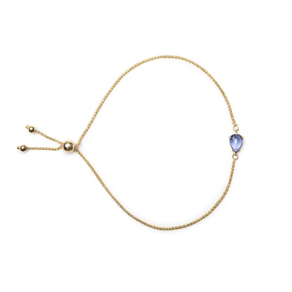 ILA 0.74ct Edeli Blue Sapphire Bracelet