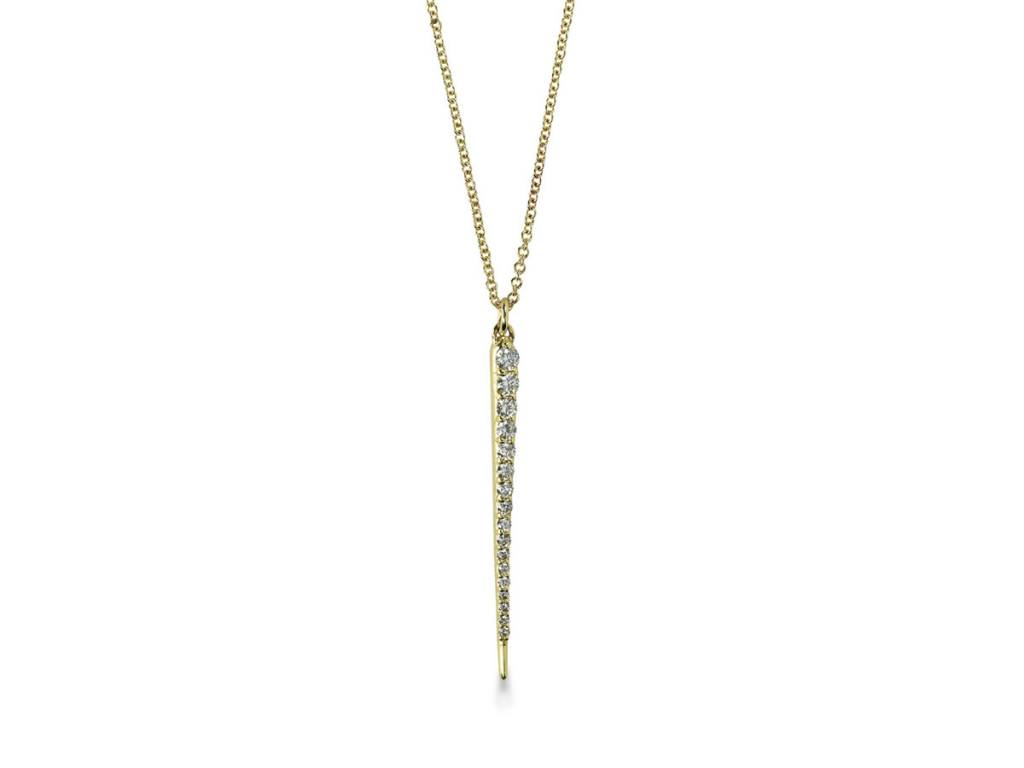 ILA 0.22ct Anastasia Diamond Spear Necklace