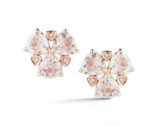 Dana Rebecca Kunzite and Diamond Stud Earrings DR1