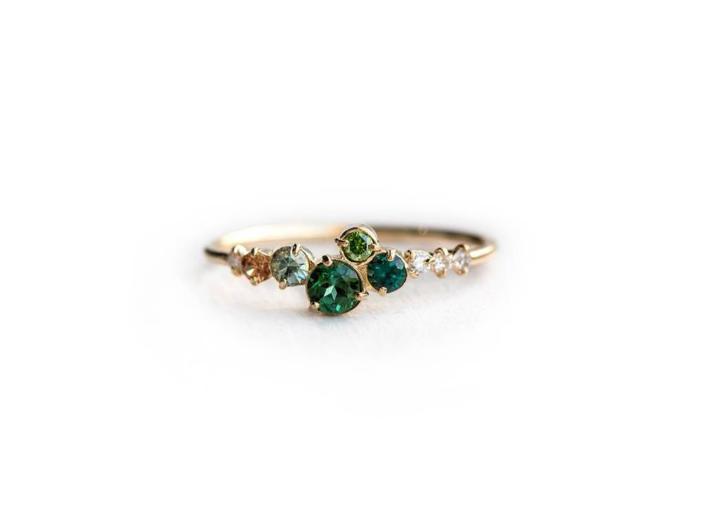 Melanie Casey Trellis in Giverny Cluster Ring
