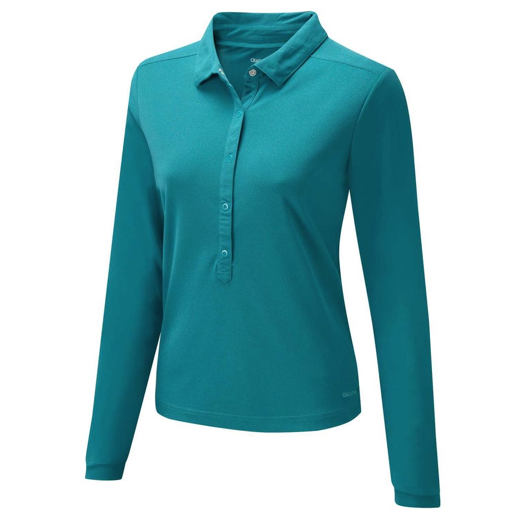 CRAGHOPPERS CRAGHOPPERS NOSILIFE KEISHA LL/S POLO SHIRT WOMEN'S