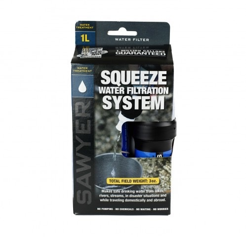 SAWYER SAWYER® SQUEEZE WATER FILTER SYSTEM