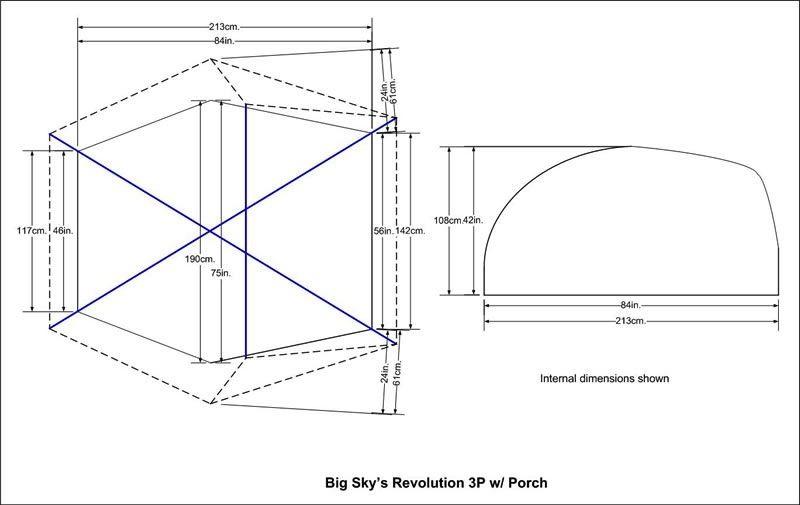 BIG SKY BIG SKY REVOLUTION 3P TENT