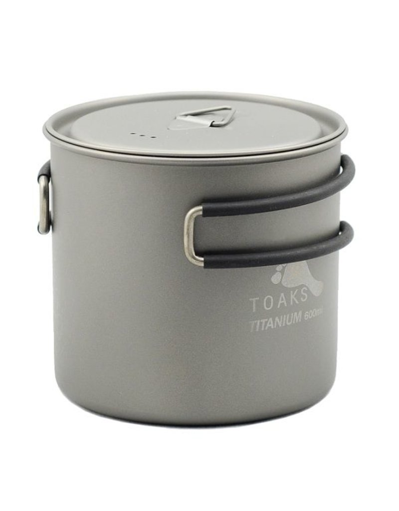 Toaks Titanium TOAKS TITANIUM POT WITH LID 600ML