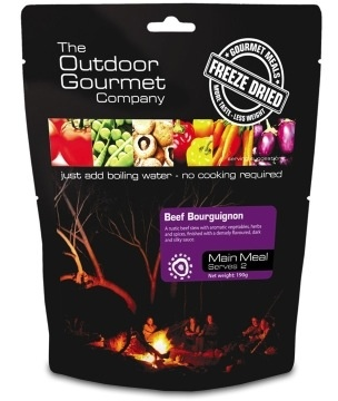 BACKCOUNTRY OUTDOOR GOURMET BEEF BOURGUIGNON (DOUBLE SERVE)