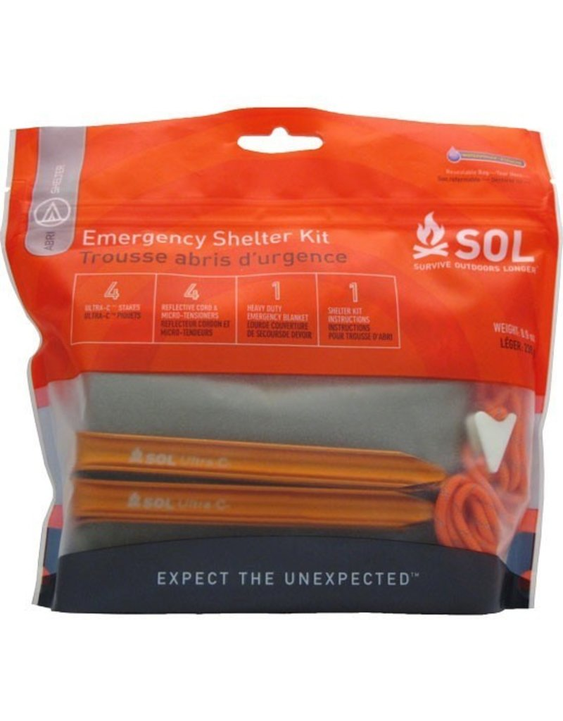AMK AMK SOL EMERGENCY SHELTER KIT