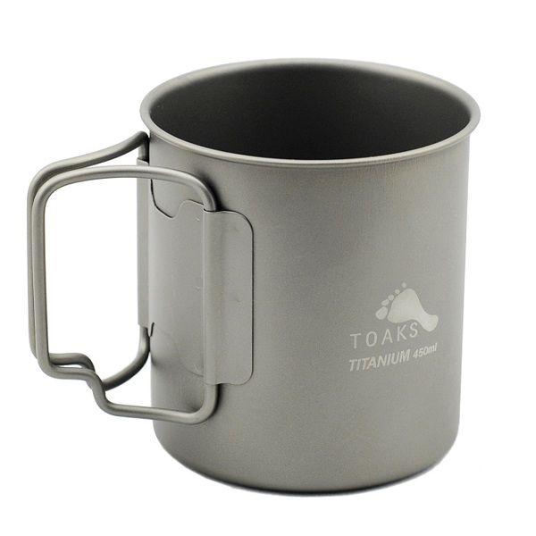 Toaks Titanium TOAKS TITANIUM CUP 450ML (76GM)