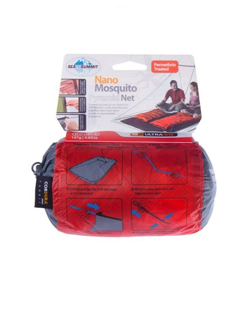 SEA TO SUMMIT SEA TO SUMMIT NANO MOZZIE NET DOUBLE TREATED