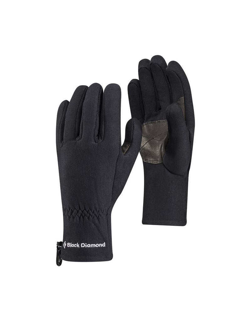 BLACK DIAMOND BLACK DIAMOND MID WEIGHT POWER STRETCH GLOVES