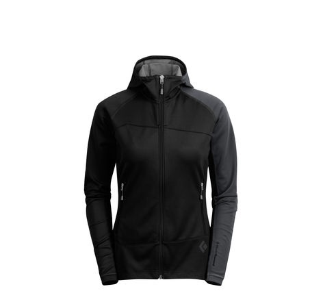 BLACK DIAMOND BLACK DIAMOND FLOW STATE WINDSTOPPER HOODY WOMEN'S