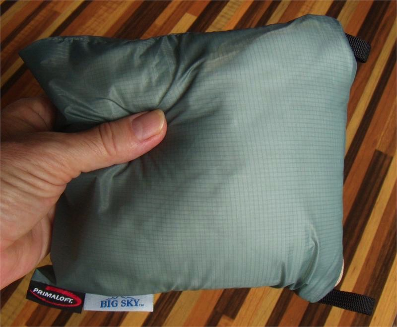 BIG SKY BIG SKY DREAMSLEEPER ULTRALIGHT PILLOW DELUXE 117gms - with pillow case