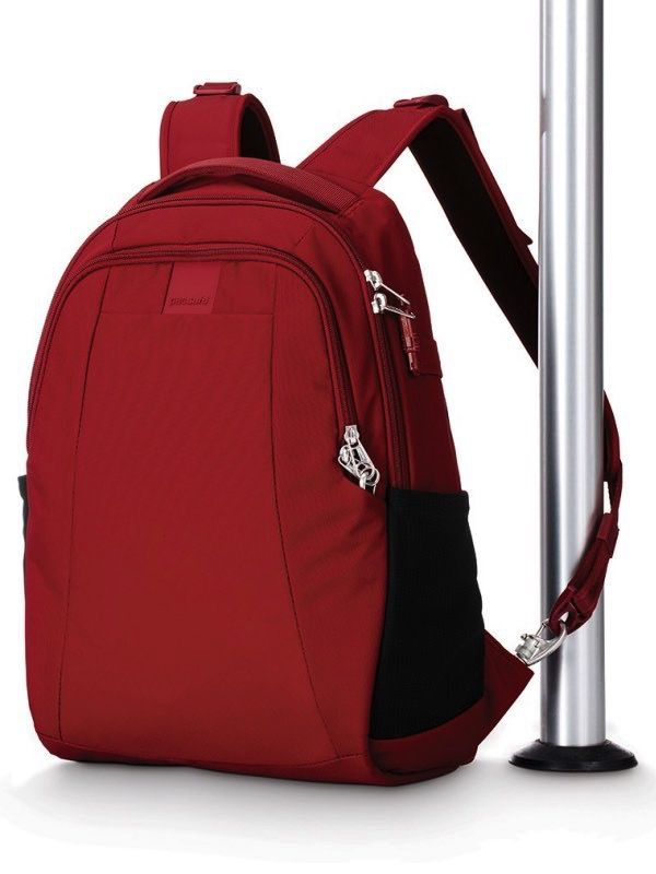 PACSAFE PACSAFE METROSAFE LS350 BACKPACK 15L RED