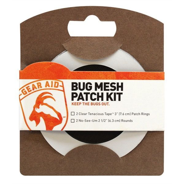 McNett GEAR AID BUG MESH REPAIR KIT - 2 PATCHES
