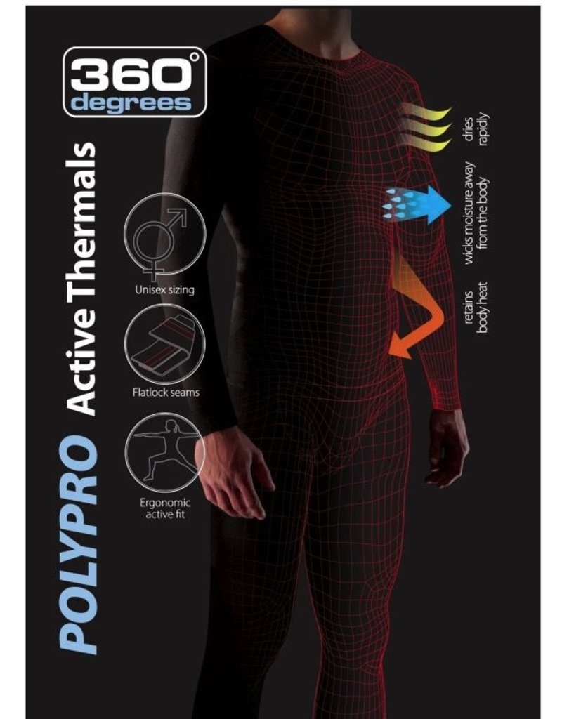 360 DEGREES 360 POLYPRO UNISEX Thermal Top