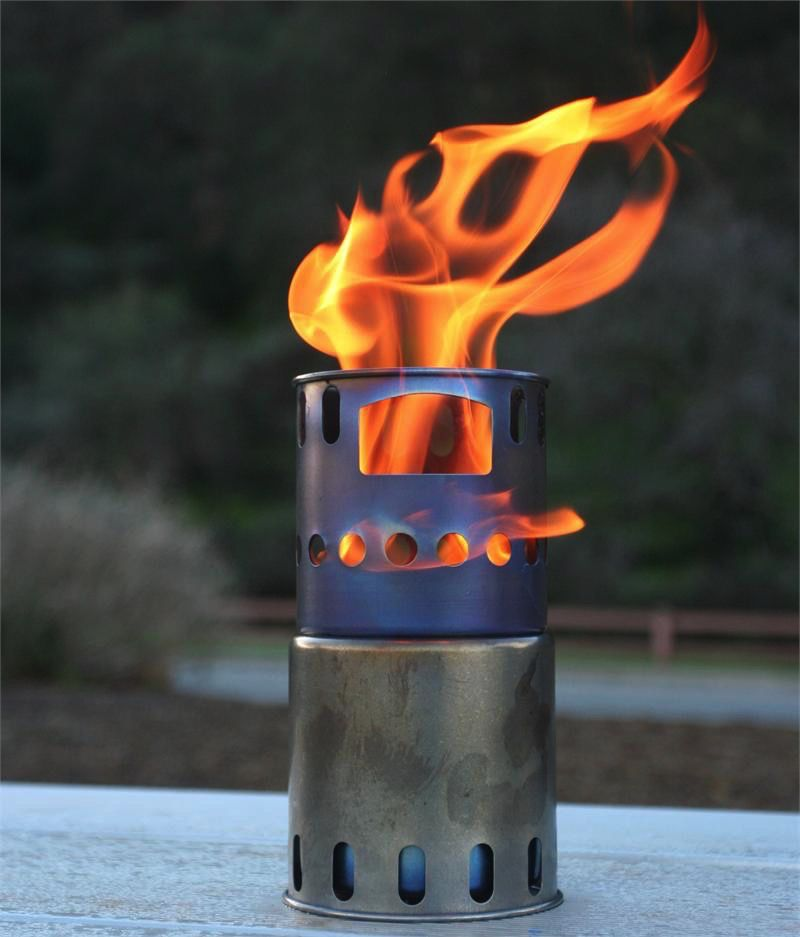 Toaks Titanium TOAKS TITANIUM BACKPACKING WOOD BURNING STOVE