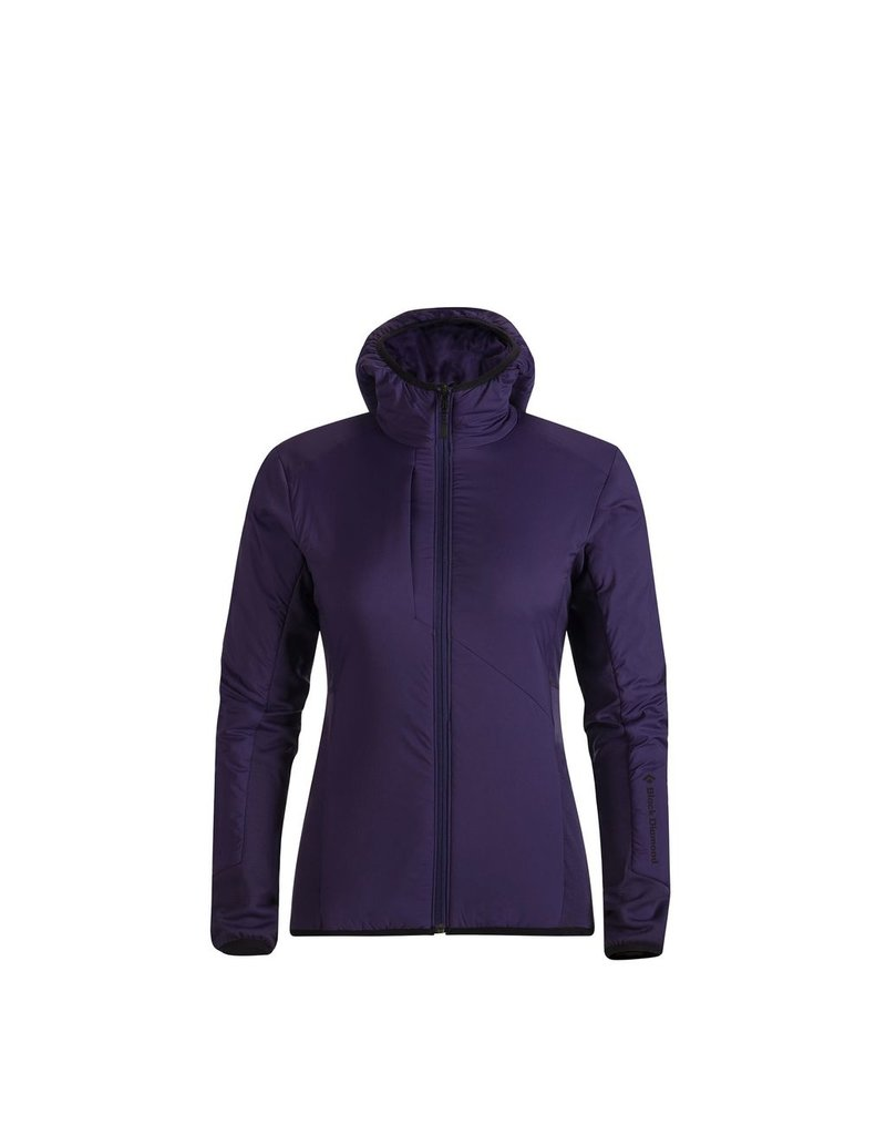 BLACK DIAMOND BLACK DIAMOND DEPLOYMENT HYBRID HOODY WOMEN'S
