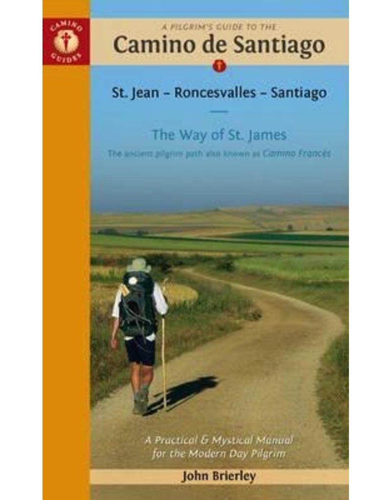 GUIDE BOOKS PILGRIMS GUIDE TO CAMINO de SANTIAGO John Brierley 2016
