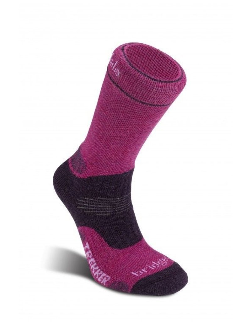 BRIDGEDALE BRIDGEDALE WOOL FUSION TREKKER CUPED SOCKS WOMEN'S