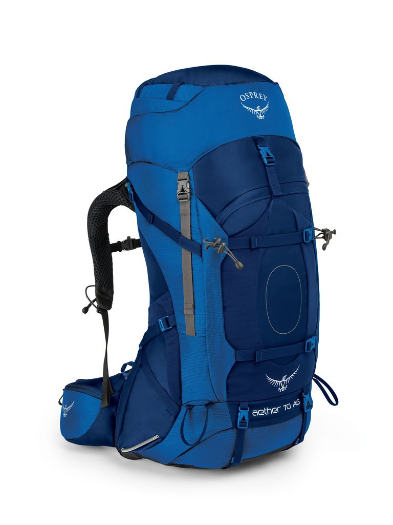 OSPREY OSPREY AETHER AG 70 HIKING PACK WITH RAIN COVER