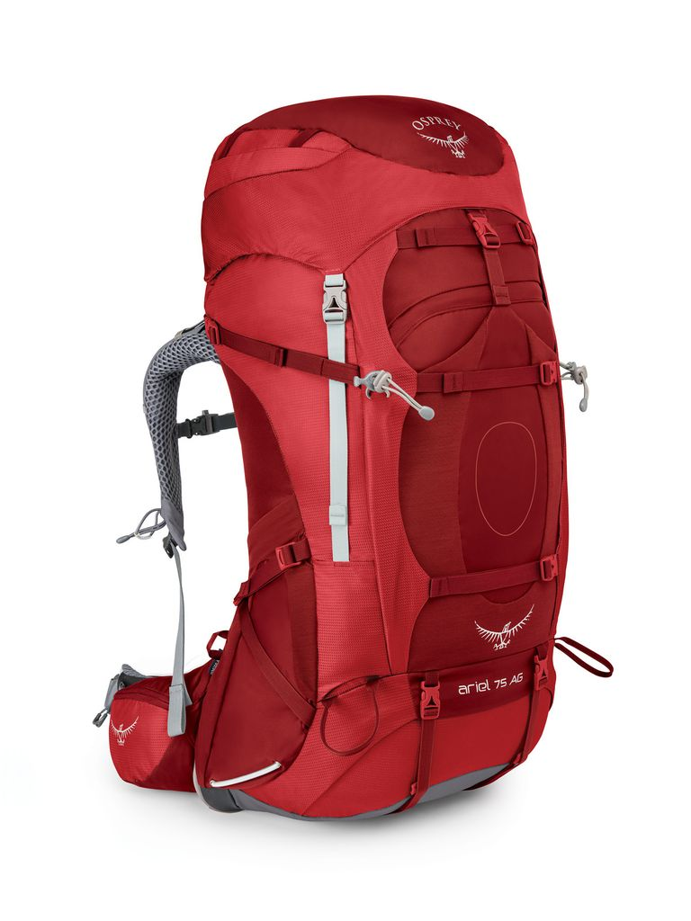 OSPREY OSPREY ARIEL AG 75 HIKING PACK WITH RAIN COVER