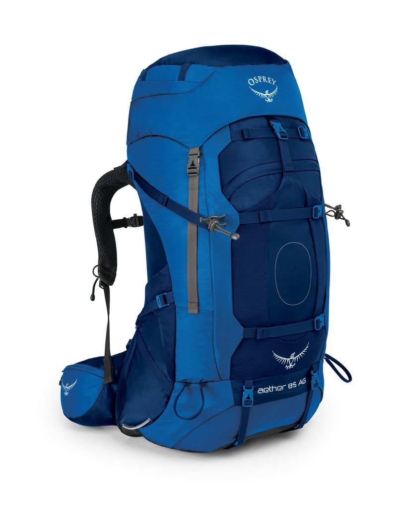 OSPREY OSPREY AETHER AG 85 HIKING PACK WITH RAINCOVER