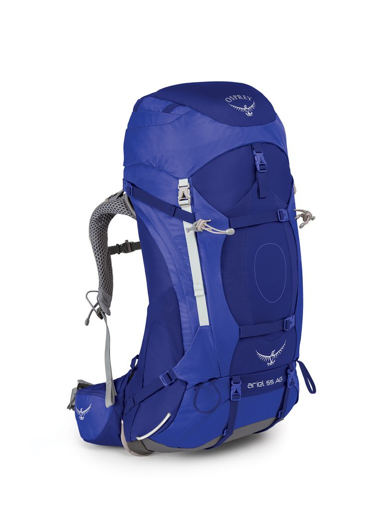 OSPREY OSPREY ARIEL AG 55 HIKING PACK WITH RAIN COVER