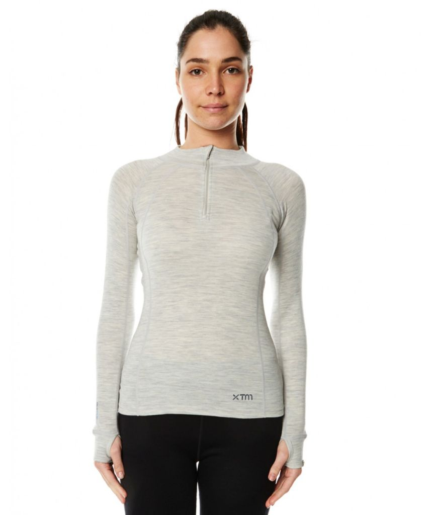 XTM MERINO XTM MERINO TOP ZIP NECK 230 WOMEN'S