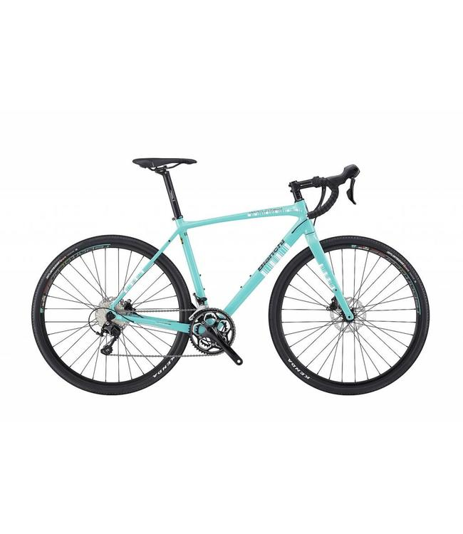 Bianchi Bianchi 18 Impulso All Road 105 Disc Celeste/Blk 57