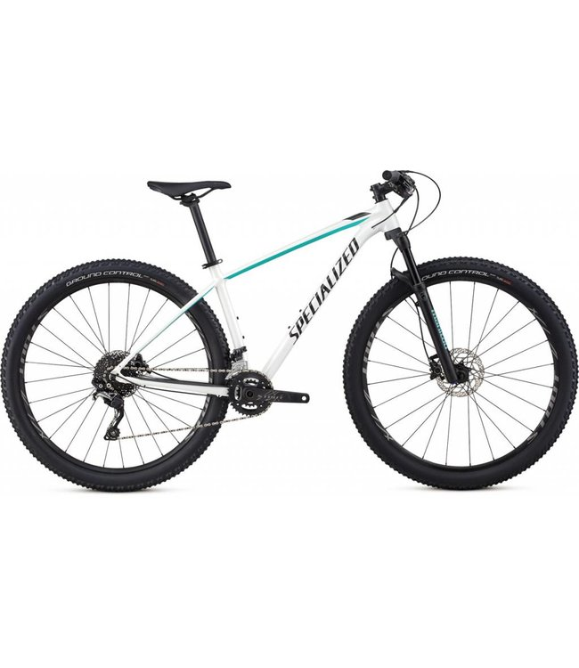Specialized Specialized 18 Rockhopper Pro Wmns 29 MetWhtSil/AcidMnt/Blk HIRE M