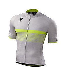 Specialized Specialized SL Expert Jersey SS Grey/Yellow M