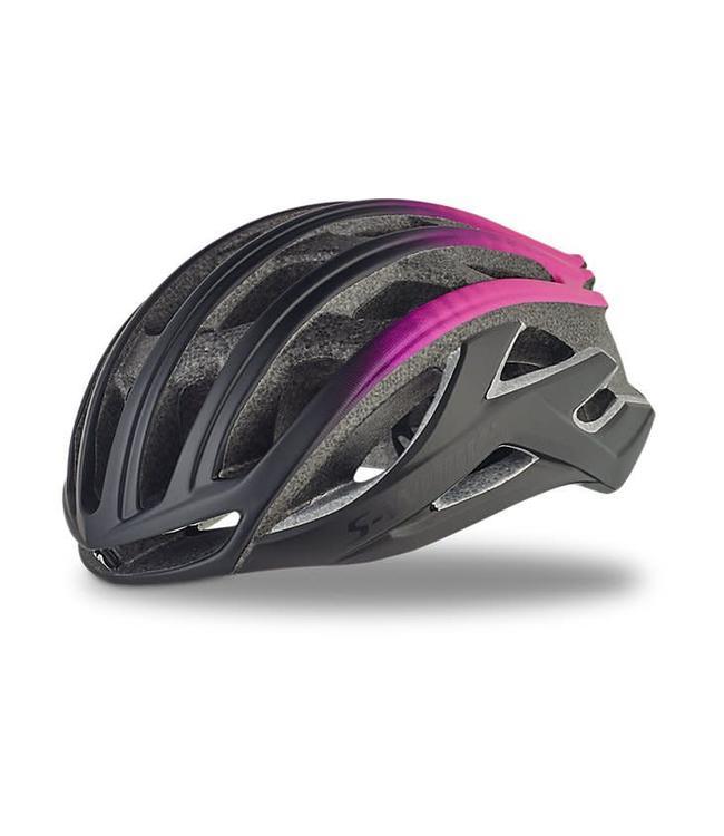 Specialized Specialized Helmet S-Works Prevail II Aus Black/Pink Med