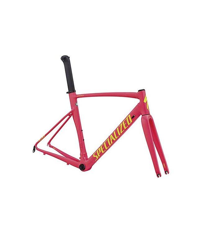 Specialized Specialized 18 Allez Sprint  Frameset Acid Pink / Team Yellow 58cm