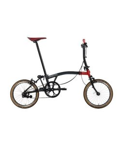 Brompton Brompton 17 Chapter 3 6 Speed Black Ti