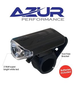 Azur Azur Delux Front Light 3 watt Battery