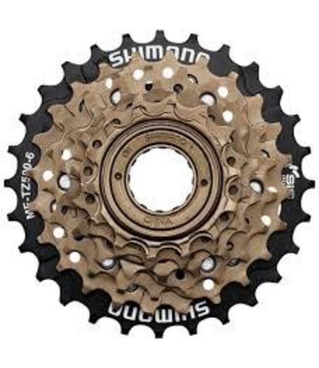 Shimano Shimano Multi Freewheel TZ500 6 Spd 14 - 28T