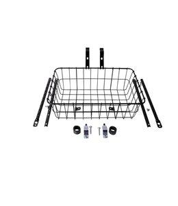 WALD 1372 Commuter Front Basket Gloss Black