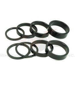 "Wheels Manufacturing Wheels Manufacturing 1-1/8"" 2.5mm Headset Spacer Black"