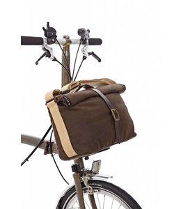 Brompton Brompton Roll Top Bag Wax ed w/ Cover Frame