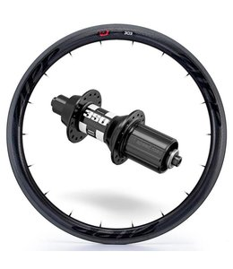 Zipp Zipp Rear Wheel 303 Firecrest with DT350 Hub Blk 700c