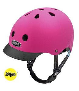 Nutcase Nutcase Helmet Little Nutty MIPS Child Pink Bubbles Matte XS