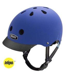 Nutcase Nutcase Helmet Little Nutty MIPS Child Blue Bubbles Matte XS