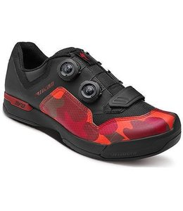 Specialized Specialized MTB Shoe 2FO Cliplite Blk Red Camo 43